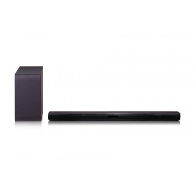 LG Electronics 2.1ch 300W Sound Bar with Wireless Subwoofer and Bluetooth® Connectivity