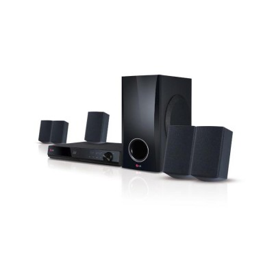 LG Electronics 3D-Capable 500W 5.1ch Blu-ray Disc™ Home Theater System with Smart TV