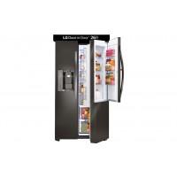 LG Electronics Black Stainless Steel Series 26 cu. ft. Side-by-Side Refrigerator w/ Door-in-Door®