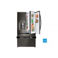 LG Electronics Black Stainless Steel 30 cu.ft. Super Capacity French Door Refrigerator w/Door-in-Door®