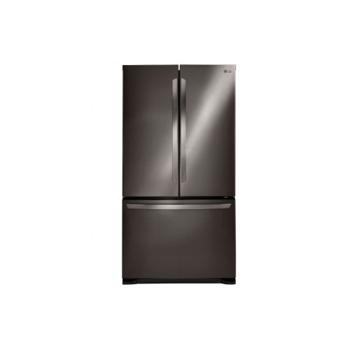 Lg Electronics Black Stainless Steel Series 21 Cu Ft 3 Door French