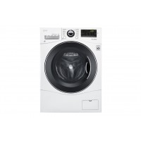 "LG Electronics 2.3 cu. ft. Capacity 24"" Compact Front Load Washer w/ NFC Tag On"