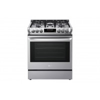 LG Electronics 6.3 cu. ft. Gas Slide-in Range with ProBake Convection® and EasyClean®