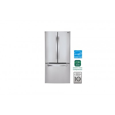 LG Electronics 24 cu. ft. Ultra Capacity 3-Door French Door Refrigerator