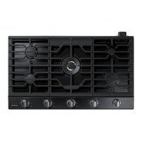 """Samsung - 36"""" Gas Cooktop - Black Stainless Steel  (Даатгал, тээвэр, татвар, хүргэлт бүх зардал орсон.)"""
