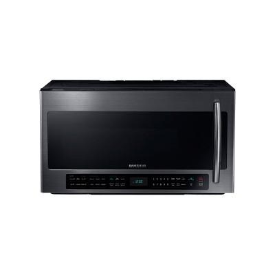 Samsung - 2.1 Cu. Ft. Over-the-Range Microwave with Sensor Cooking - Black Stainless Steel  (Даатгал, тээвэр, татвар, хүргэлт бүх зардал орсон.)