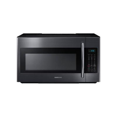 Samsung - 1.8 Cu. Ft. Over-the-Range Microwave with Sensor Cooking - Black Stainless Steel  (Даатгал, тээвэр, татвар, хүргэлт бүх зардал орсон.)