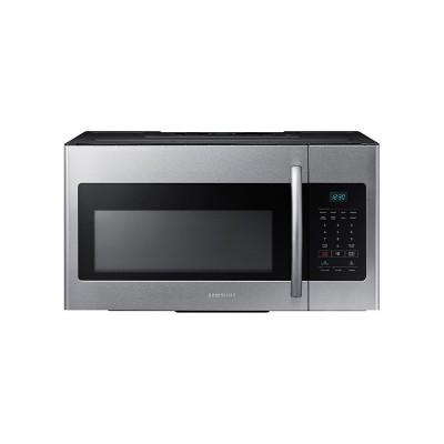 Samsung - 1.6 Cu. Ft. Over-the-Range Microwave - Stainless Steel  (Даатгал, тээвэр, татвар, хүргэлт бүх зардал орсон.)