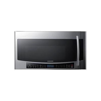 Samsung - 1.7 Cu. Ft. Over-the-Range Microwave - Black Stainless Steel  (Даатгал, тээвэр, татвар, хүргэлт бүх зардал орсон.)