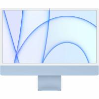"Apple 24"" iMac with M1 Chip , 8GB memory , 256GB storage (Mid 2021 , Blue)"